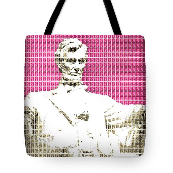 Lincoln Memorial - Pink Tote Bag