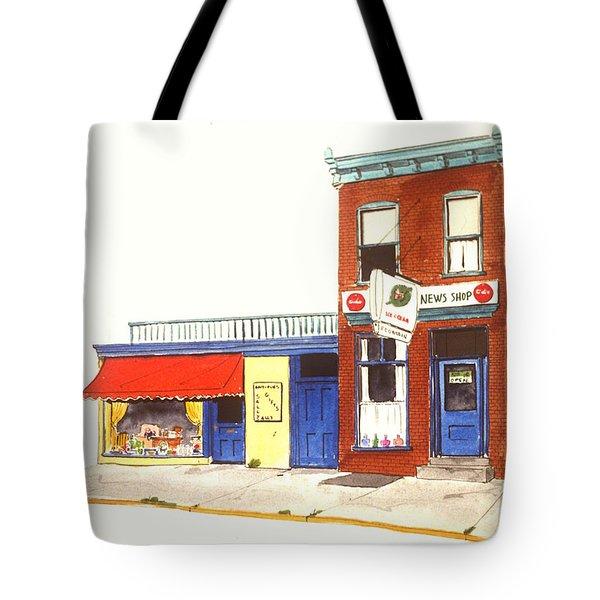 Lincoln News Tote Bag