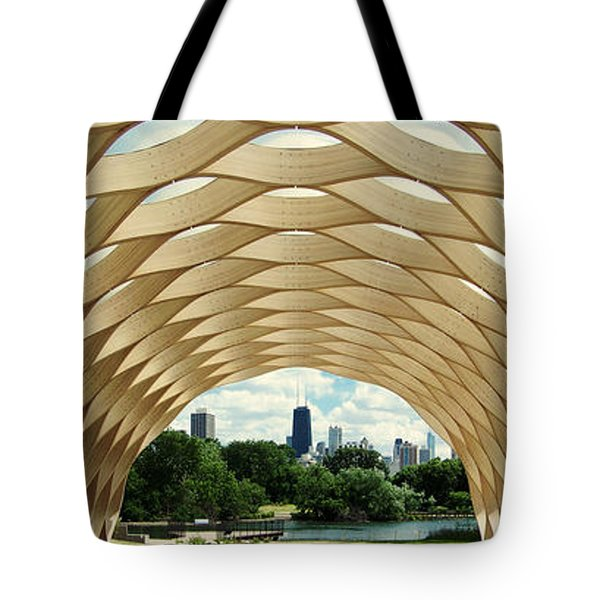 Lincoln Park Zoo Nature Boardwalk Panorama Tote Bag