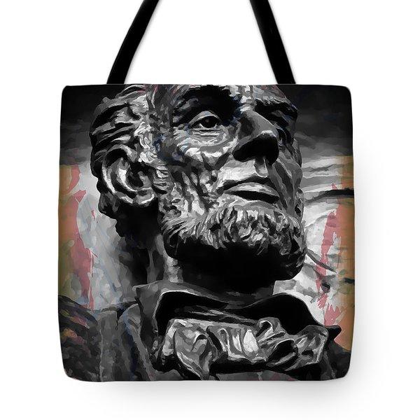 Lincoln Stoic Tote Bag