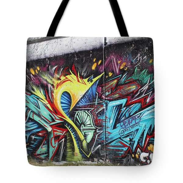 Tote Bag featuring the painting Lincoln Street by Sheila Mcdonald