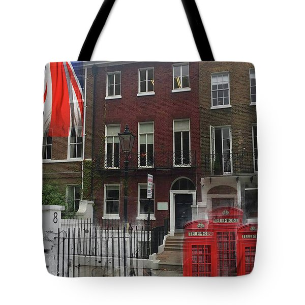 Lincoln's Inn Field Tote Bag
