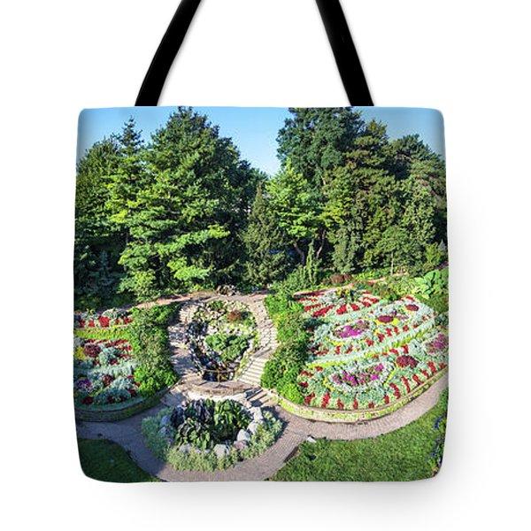 Lincoln's Sunken Gardens Tote Bag