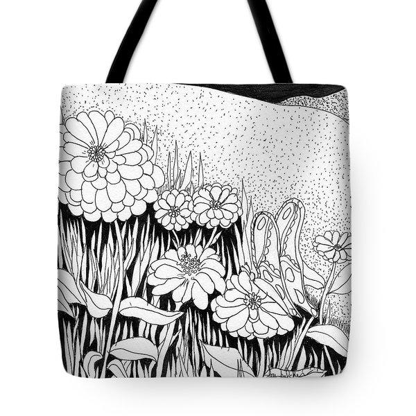Linda's Garden Tote Bag by Lou Belcher