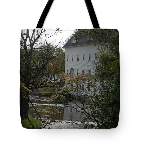 Linden Mill Pond Tote Bag
