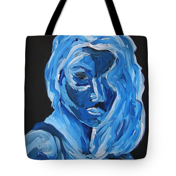 Tote Bag featuring the painting Lindsay by Joshua Redman