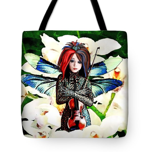 Lindsey Stirling Tote Bag by Jann Paxton
