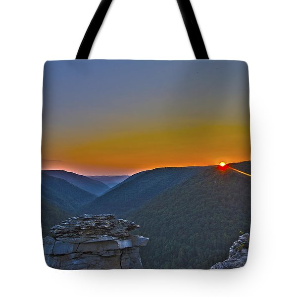Lindy Point Sunset Tote Bag