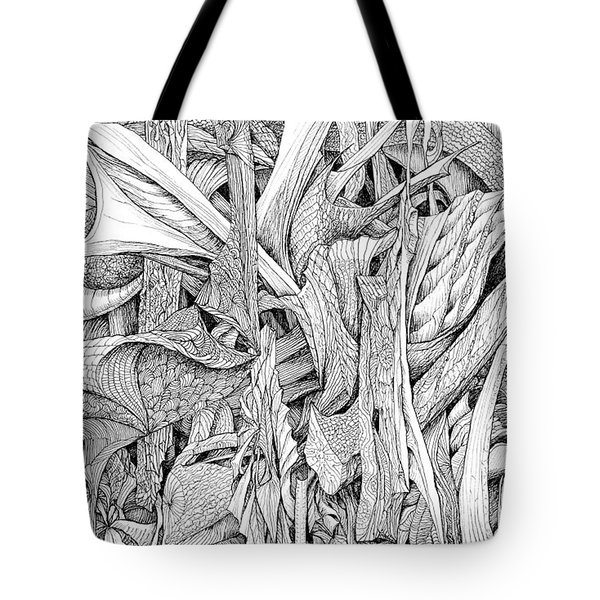 Line 2 Tote Bag by Charles Cater