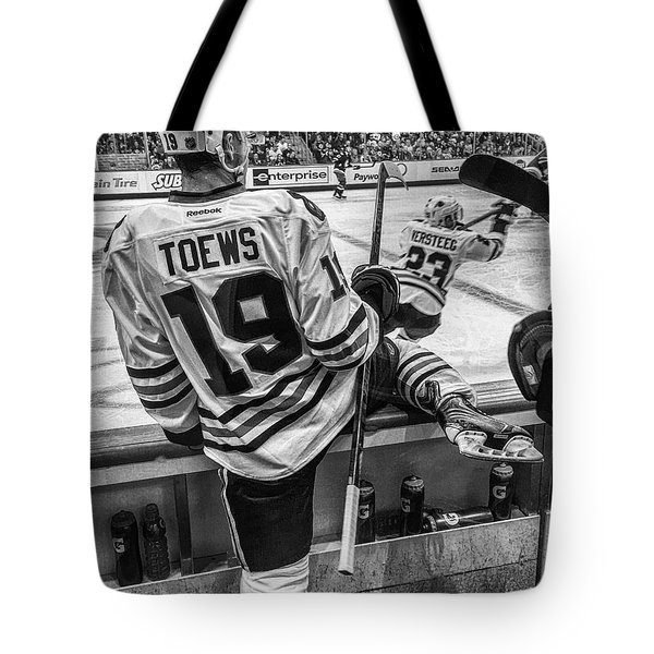 Line Change Tote Bag