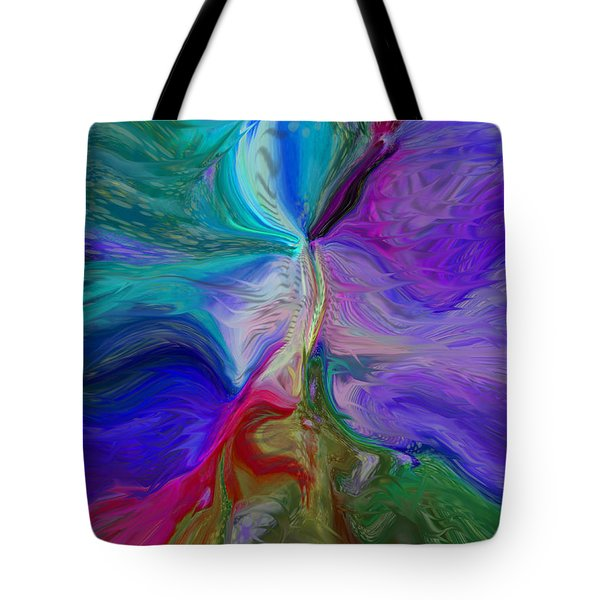 Line Color Blend Tote Bag