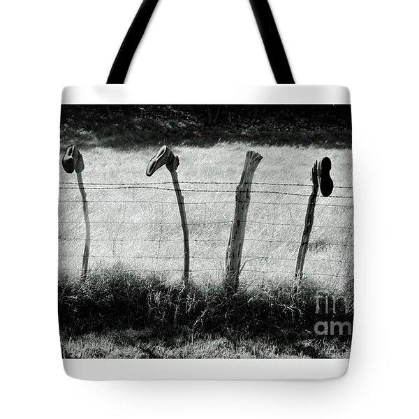 Line Dancing Tote Bag by Joe Jake Pratt