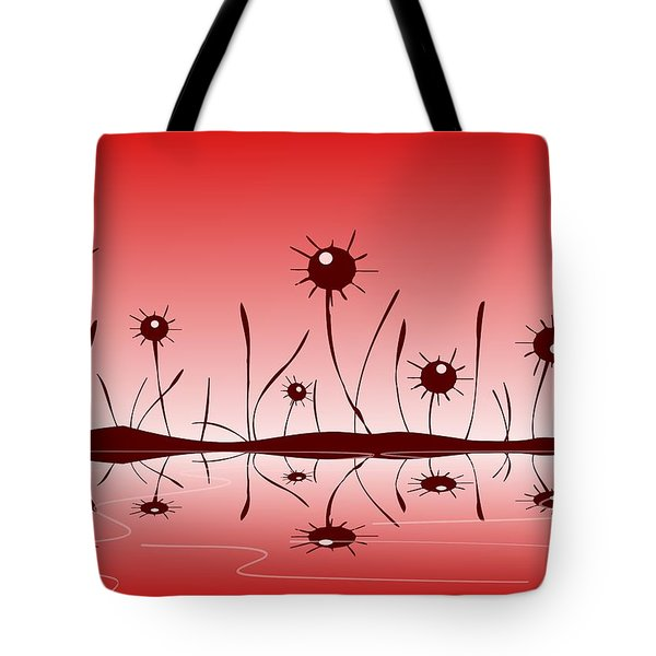 Line Of Defense Tote Bag by Anastasiya Malakhova