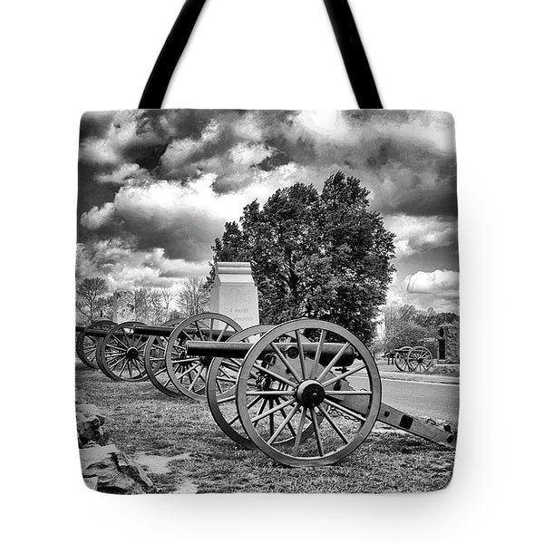 Tote Bag featuring the photograph Line Of Fire by Paul W Faust - Impressions of Light