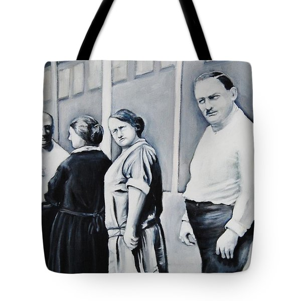 Line Of Peculiar People Tote Bag