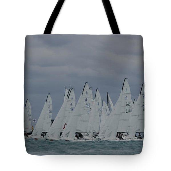 Line Up Tote Bag
