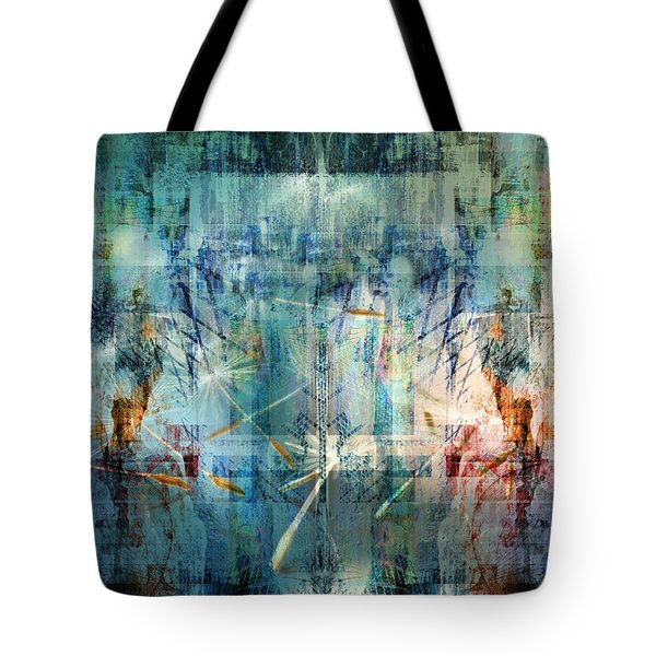 Line Up Strategy Tote Bag