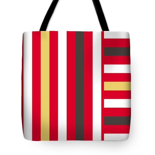 Line Variation Tote Bag