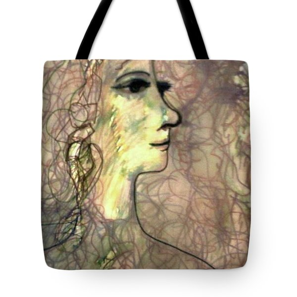 Line With Feeling Tote Bag