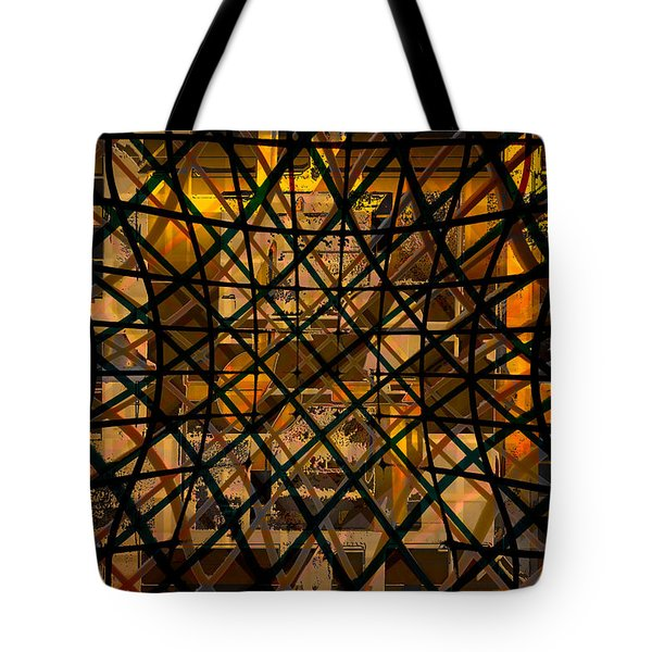 Linear Contingency Tote Bag by Don Gradner