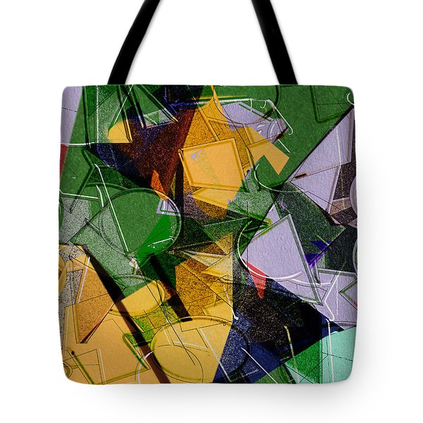 Linear Tote Bag by Don Gradner