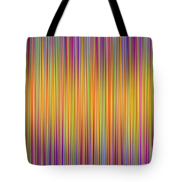 Tote Bag featuring the digital art Lines 102 by Bruce Stanfield