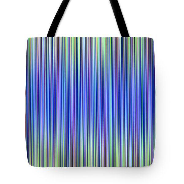Tote Bag featuring the digital art Lines 103 by Bruce Stanfield