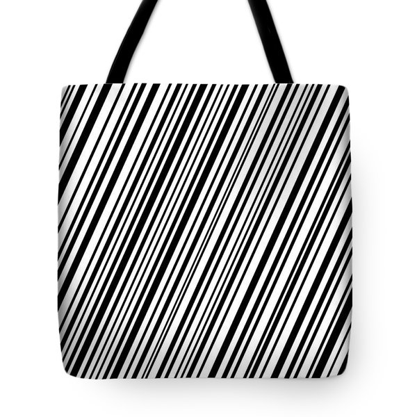 Tote Bag featuring the digital art Lines 7 Diag by Bruce Stanfield