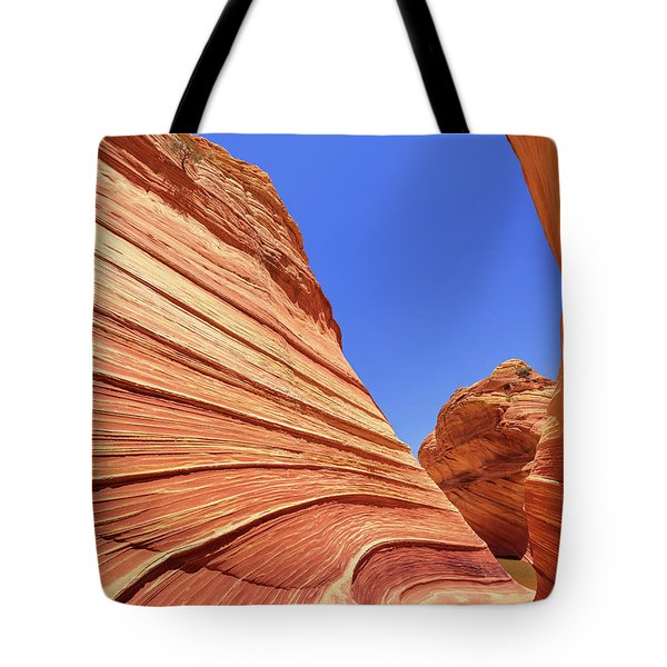 Tote Bag featuring the photograph Lines by Chad Dutson