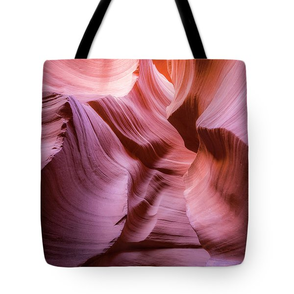 Lines In The Canyon Tote Bag