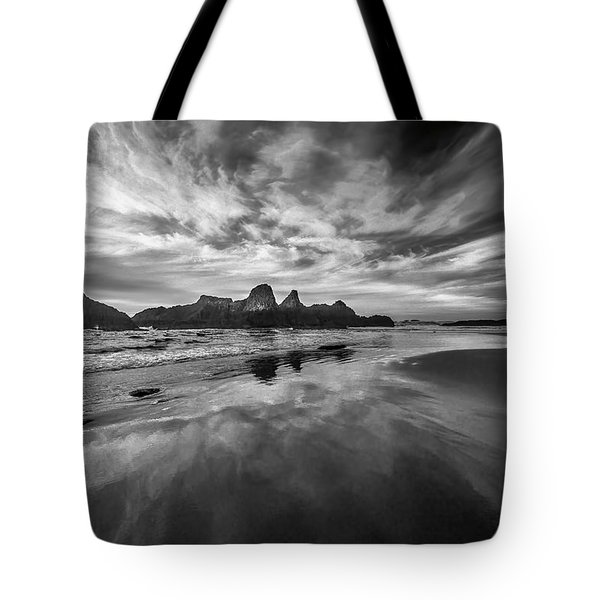 Lines In The Sand At Seal Rock Tote Bag