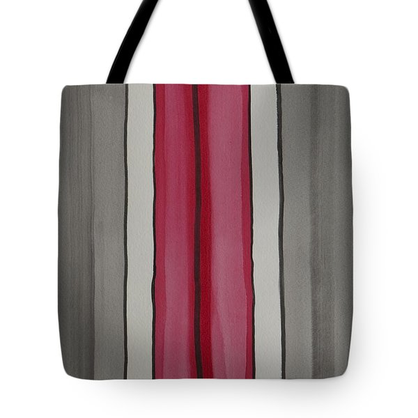 Tote Bag featuring the painting Lines by Jacqueline Athmann