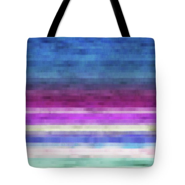 Lines Tote Bag by Matt Lindley