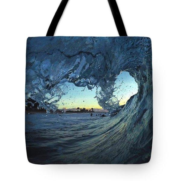 Lines Of Love Tote Bag