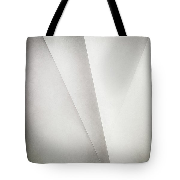 Lines On Paper Tote Bag