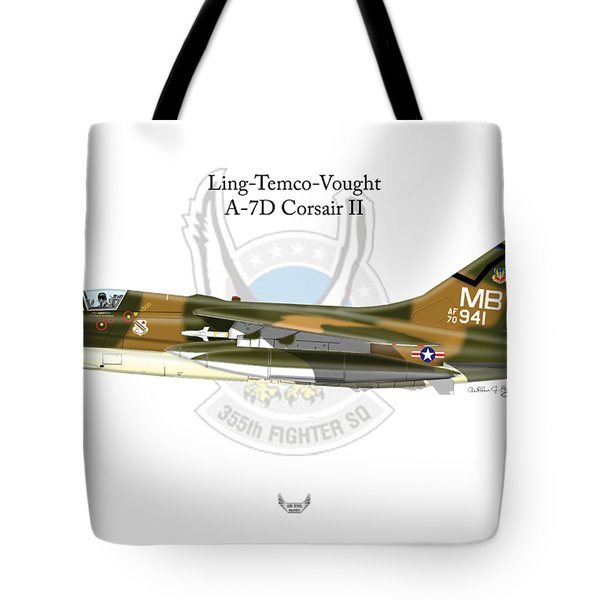 Ling-temco-vaught A-7d Corsair Tote Bag