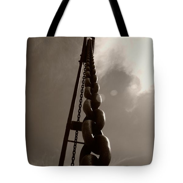 Link Tote Bag by Brian Roscorla