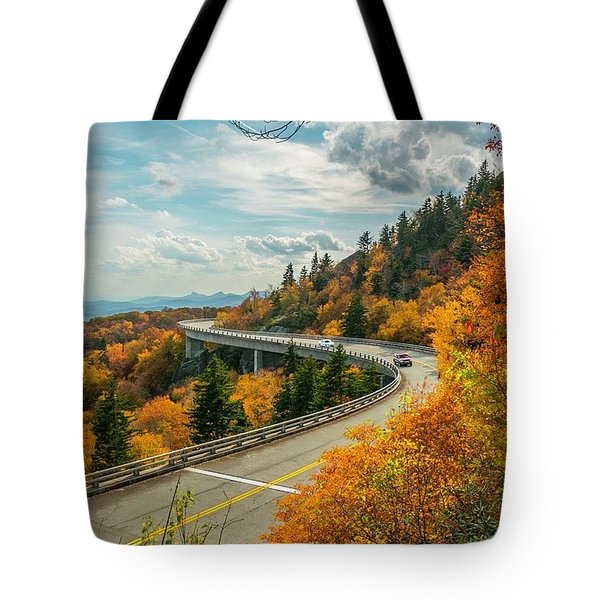 Linn Cove Viaduct Tote Bag