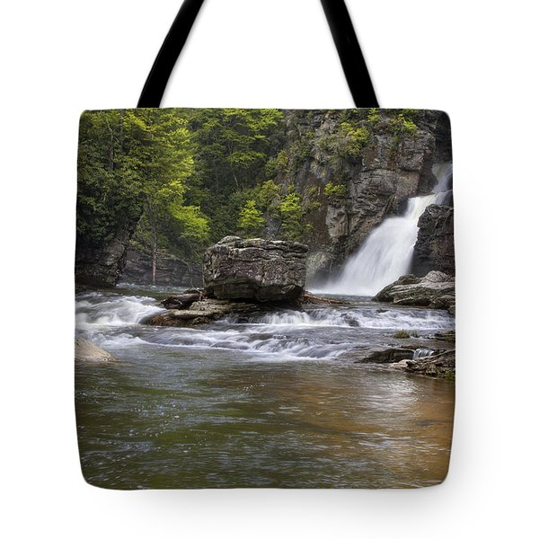 Linville Falls Basin Tote Bag