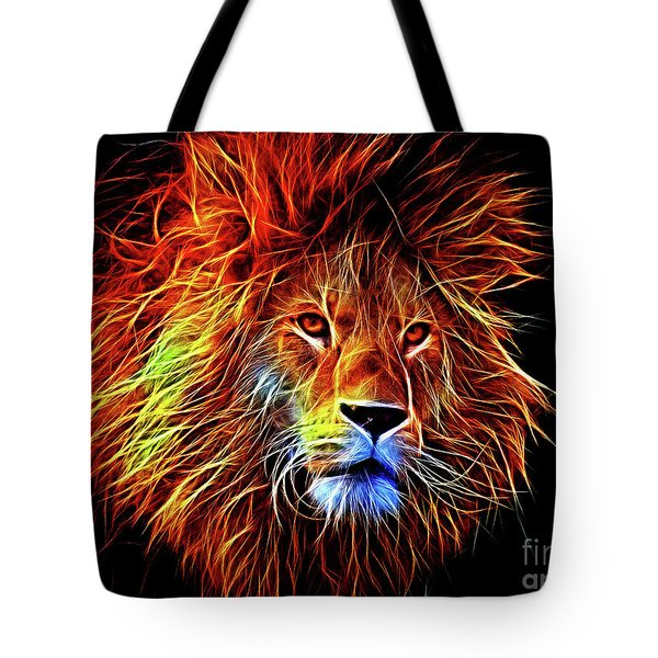 Lion 12818 Tote Bag