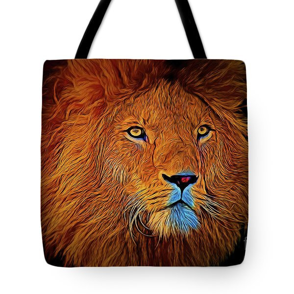 Lion 16218 Tote Bag