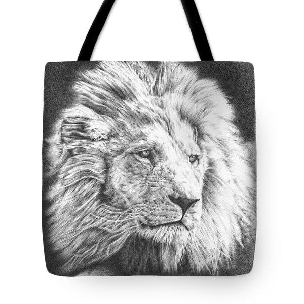 Fluffy Lion Tote Bag