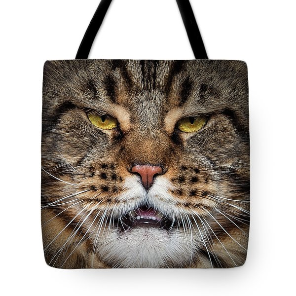 Tiger Face. Tote Bag