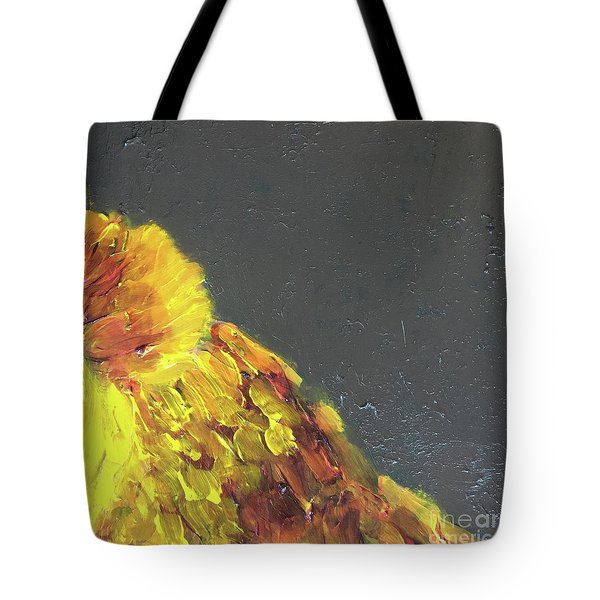 Tote Bag featuring the painting Lion Family Part 2 by Donald J Ryker III