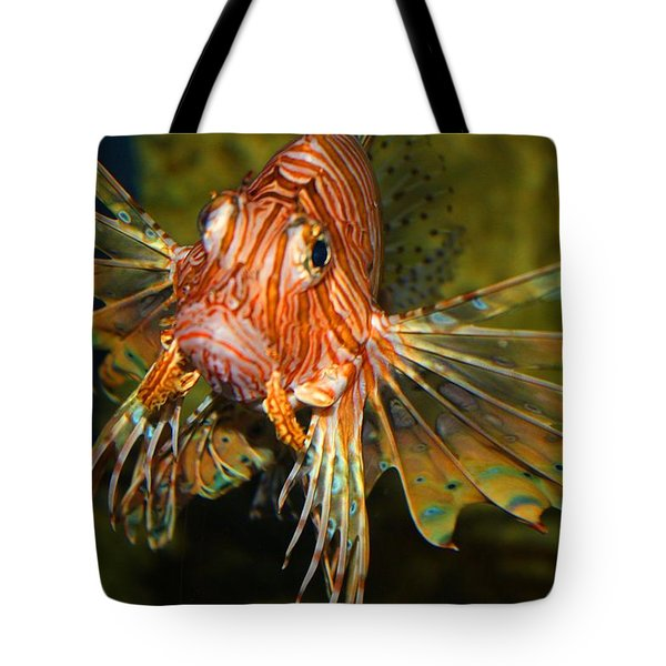 Lion Fish 2 Tote Bag