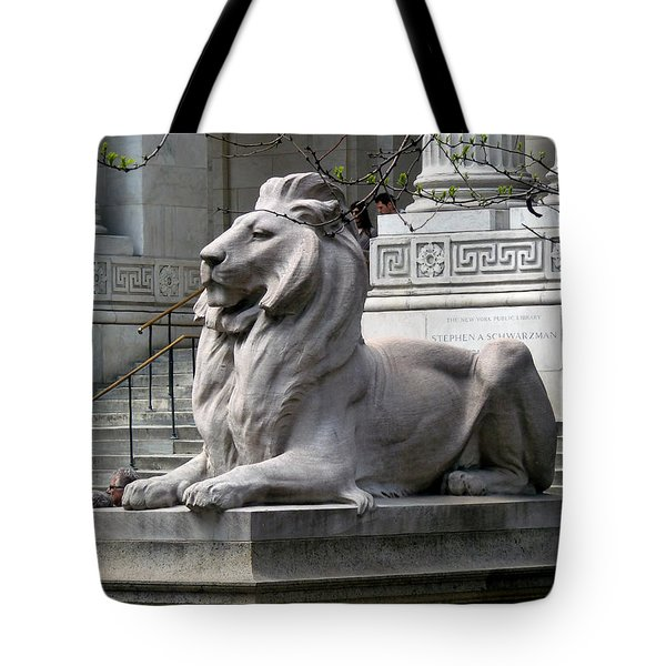 Lion Guards Literature Tote Bag