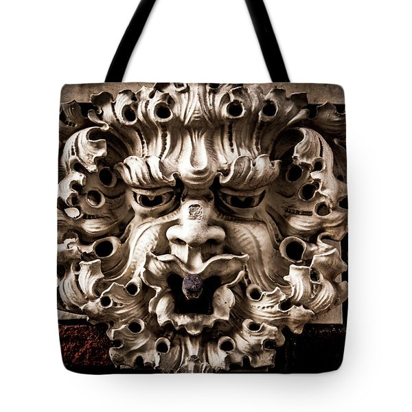 Lion Head Tote Bag
