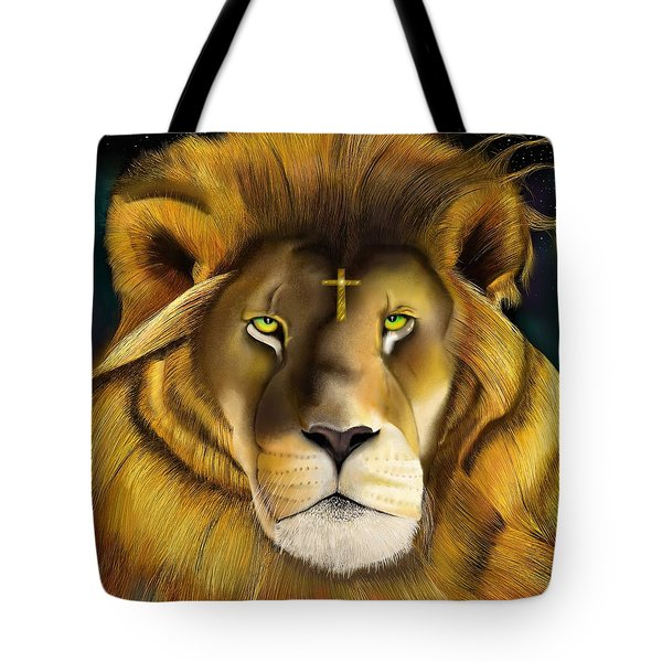 Lion Of Judah Tote Bag