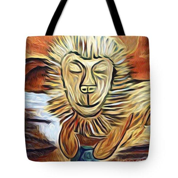 Lion Of Judah II Tote Bag