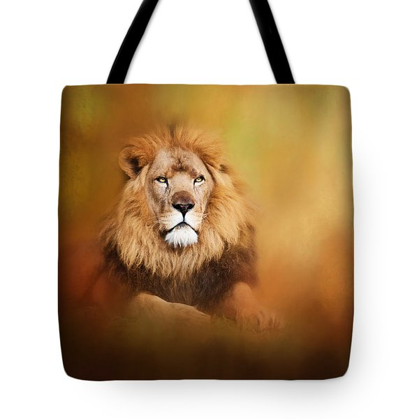 Lion - Pride Of Africa I - Tribute To Cecil Tote Bag
